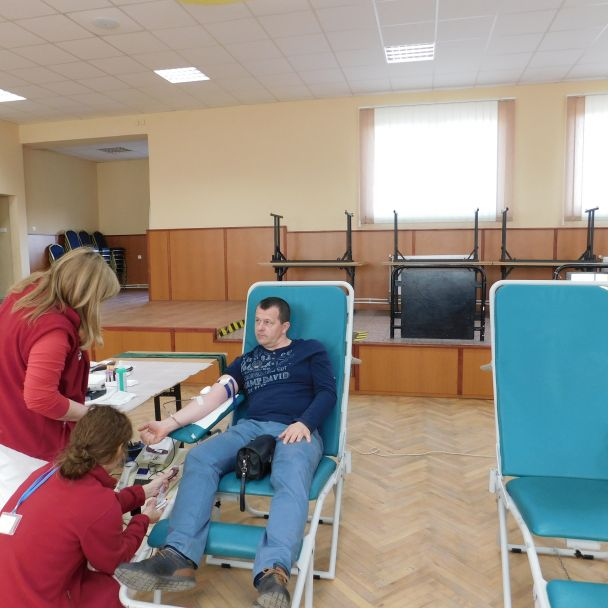 Odber krvi marec - 2019