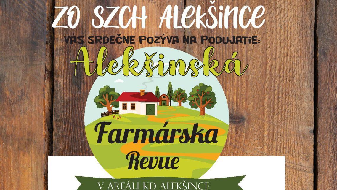 Alekšinská Farmárska revue 2020